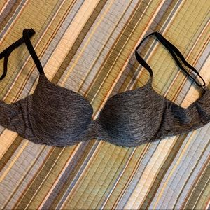PINK Victoria's Secret 34 B bra Grey 34B Lined
